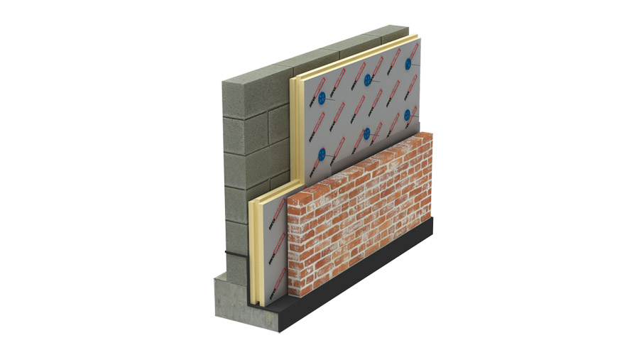 Cavity Wall Insulation Iko Enertherm