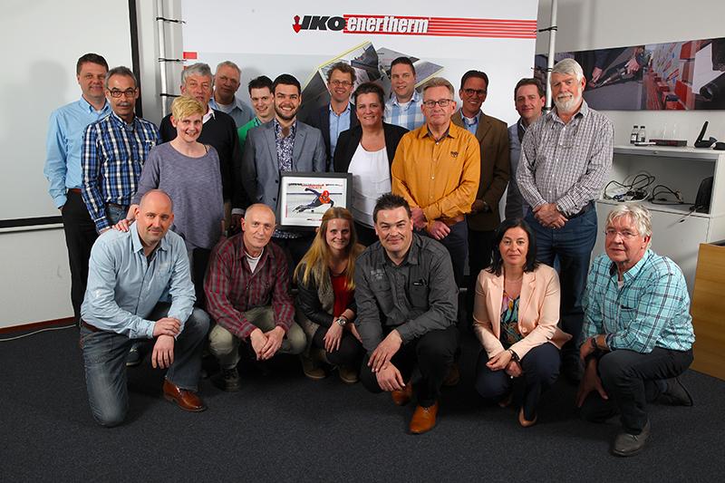 Wereldkampioen Shorttrack Sjinkie Knegt op bezoek bij IKO Enertherm