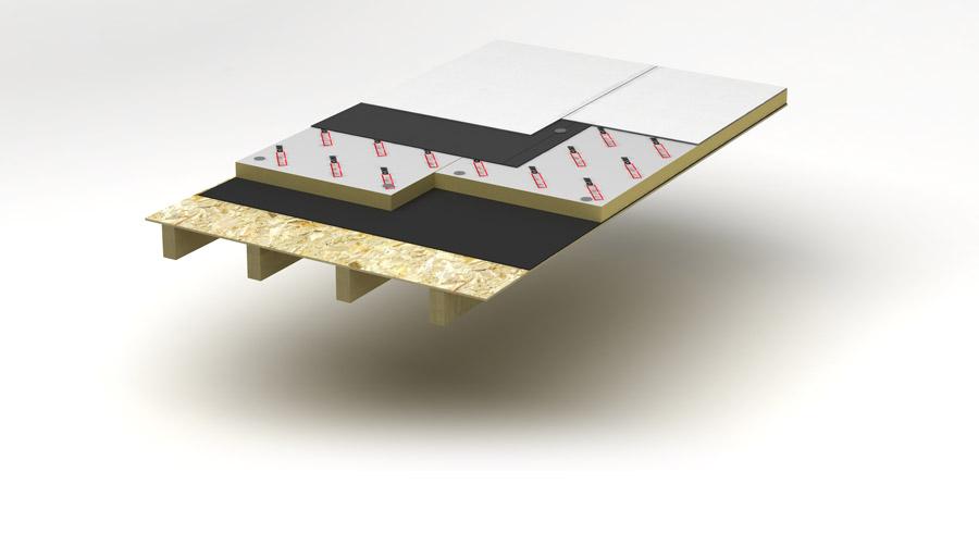 Plat dak isolatie iko enertherm