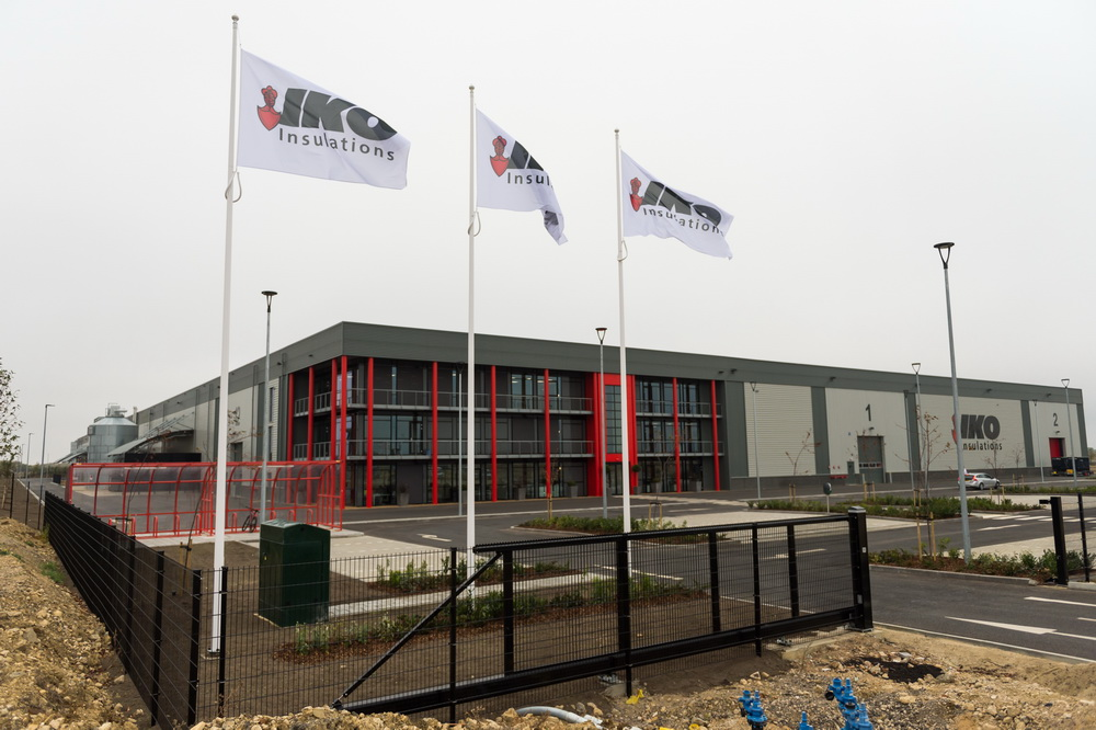 IKO Insulations inaugurates Alconbury site