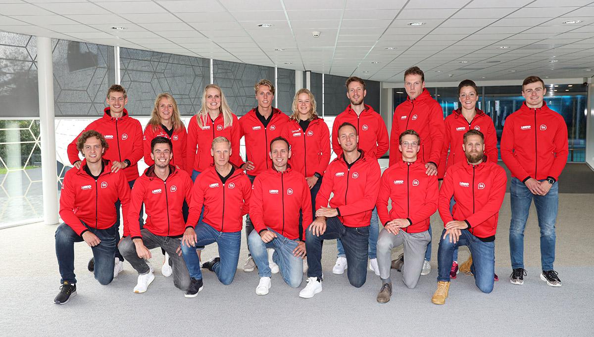 Team IKO schaatsers